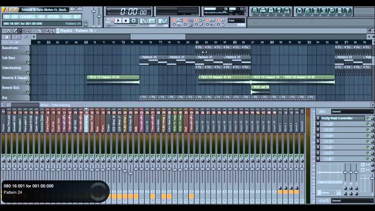 How to remix a song using Fl Studio 11 - ''Colors'' by Tritonal & Paris  Blohm Ft  Sterling Fox