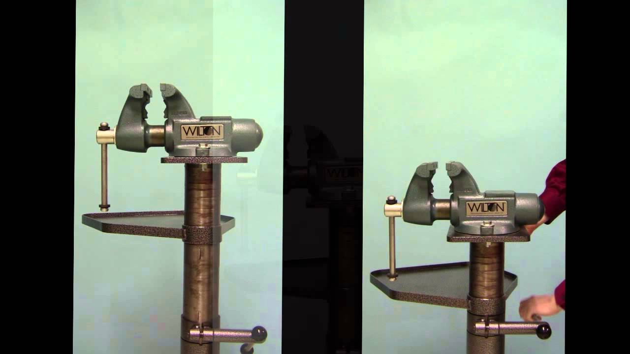 Votaw Tool Co 2155 Adjustable Vise Stand Youtube