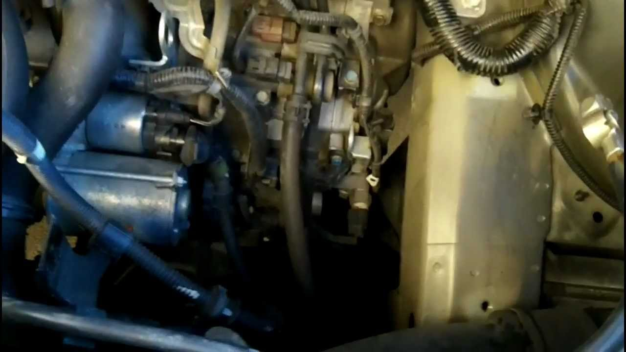 small resolution of 2005 honda odyssey starter replace