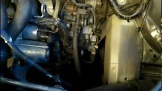 2005 Honda Odyssey starter replace