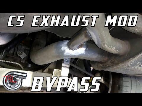 C5 Exhaust Mod Bypass Part 1