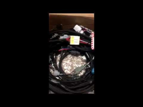 s14 2jz wiring specialties harness unboxing - YouTube