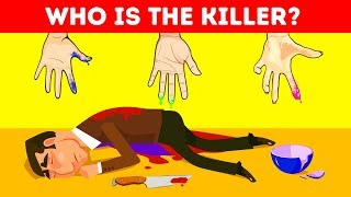 WHO DID IT? 8 RIDDLES ON CRIME
