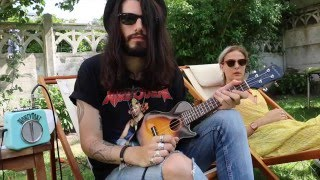 "Ukulele ""Rock medley"" #1 ( AC/DC / GunsN'Roses / Metallica/ Led Zeppelin / Deep Purple) - rock and roll music ukulele chords"