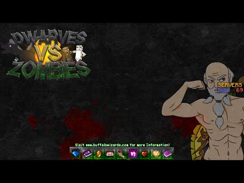 Minecraft Dwarves vs. Zombies