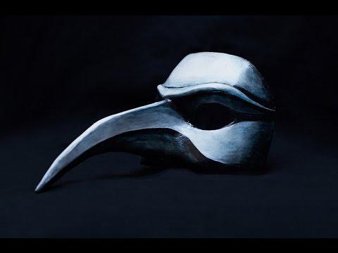 Папье-маше. Венецианская маска