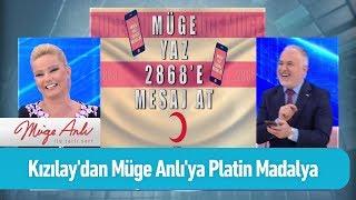 Kızılay'dan Müge Anlı'ya Platin Madalya - Müge Anlı ile Tatlı Sert 31 Mayıs 2019