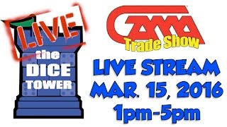 GAMA Trade Show 2016 Live Stream, Part 2