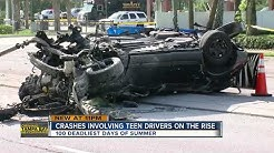 Teen-driver involved crashes increase in summer months, according to AAA   Driving Tampa Bay Forward