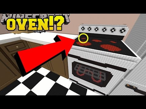 Minecraft: HIDDEN INSIDE THE OVEN!!! - Crack The Case - Custom Map [1]