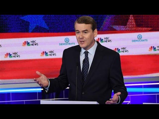 Frat Boy Michael Bennet Lights Up Joe Biden