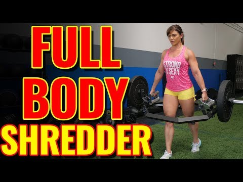 How to do Trap Bar Farmer's Walk w/ WBFF Fitness Pro