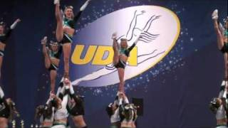 Cheer Extreme performs at the UCA Championship Nov 2011, Erica Englebert , Hannah Mize