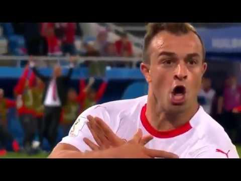 Сербия 1:2 Швейцария. ОБЗОР и ГОЛЫ