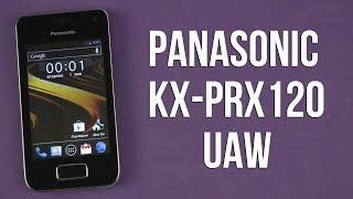 Распаковка Panasonic KX-PRX120UAW