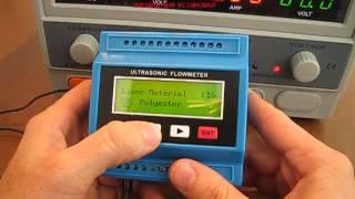 Ультразвуковой расходомер TUF2000M начальные установки(Ультразвуковой расходомер TUF2000M начальные установки., 2013-10-16T14:37:08.000Z)