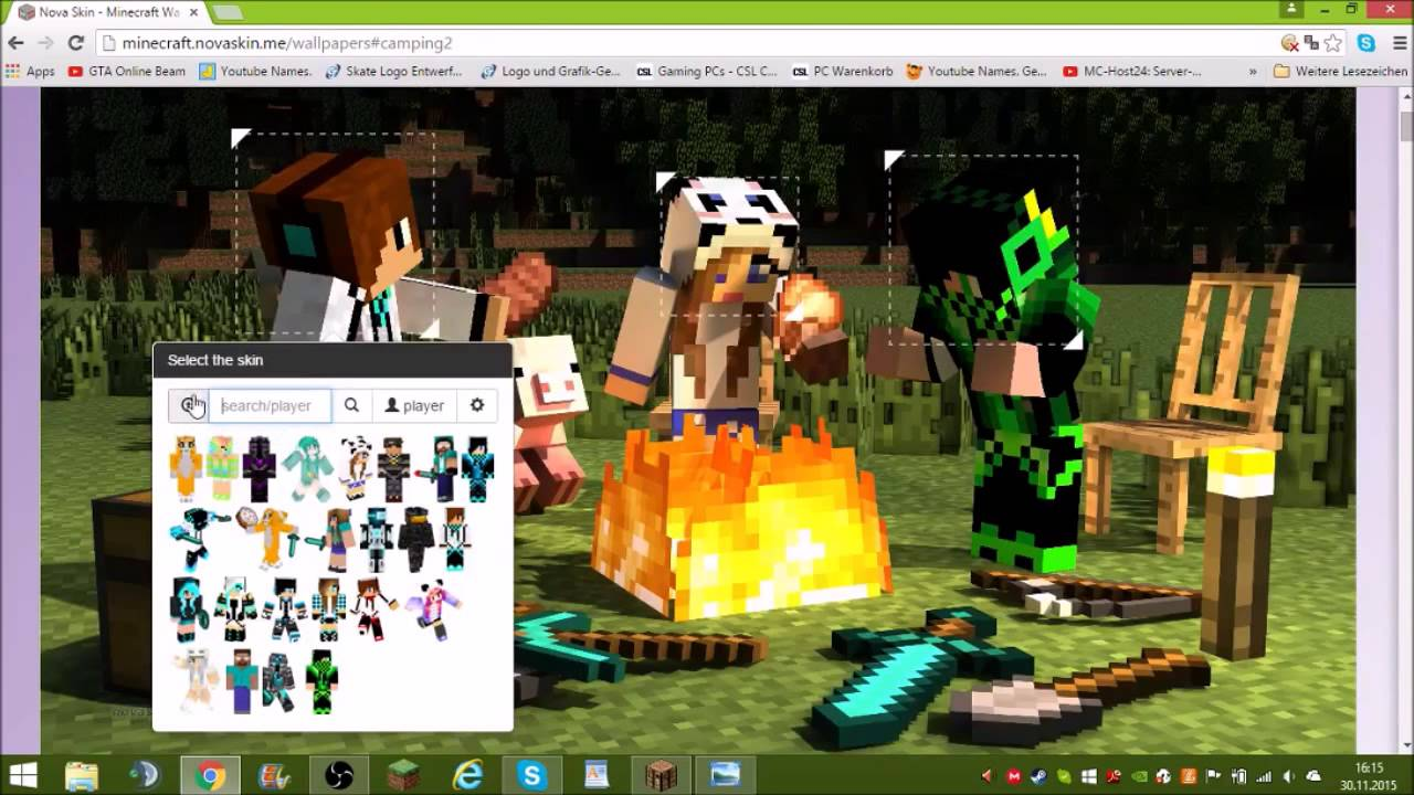 Minecraft Banner Erstellen Tutorial Youtube