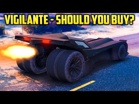 GTA Online 'Vigilante'   MOST FUN VEHICLE IN ONLINE!? Should You Buy