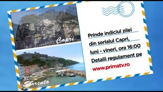 Prima TV te trimite in Capri!