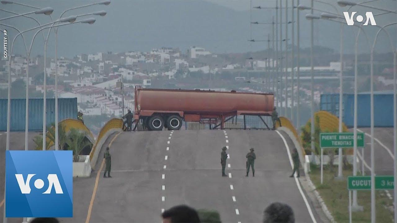 Venezuela Military Continues to Block Aid
