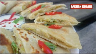 Video Afghani Bolani | Stuffed Flatbread with Leek & Potato | Easy Recipe download MP3, 3GP, MP4, WEBM, AVI, FLV September 2018