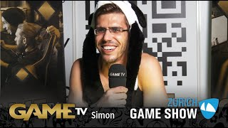 Game TV Schweiz - Interview mit Simon (Zürich Game Show)