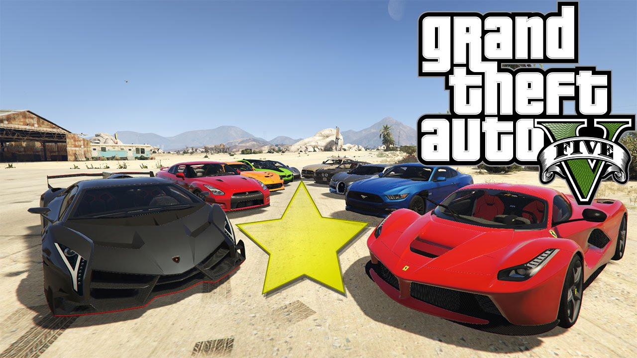 GTA V Top 10 Highest Rated Car Mods (Best Car Mods)