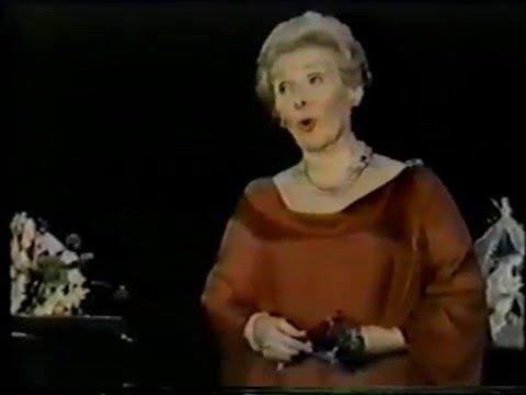 Elisabeth Schwarzkopf.FILM.Final Encore in Amsterdam Recital.SELIGKEIT.Schubert.1977.