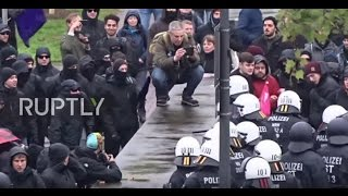 Germany  Clashes and arrests at mass anti AfD rally in Cologne