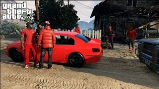 Repeat youtube video GTA 5 Crips & Bloods Out The Country [HD] RockStar Editor