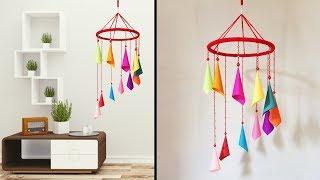 Wall Decor Crafts Idea // Wind chime Craft Ideas // Home Decor Wall Hanging #DotsDIY