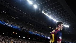 Amazing FC Barcelona Anthem at Nou Camp Before Game!!