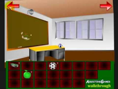 Escape The Ladies Bathroom Cheats escape from detention walkthrough (addicting games) - youtube