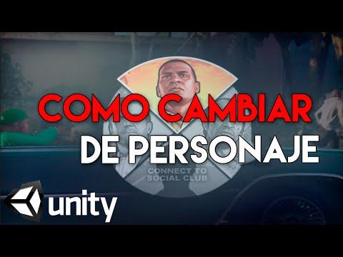Como cambiar el personaje como en gta v en unity3d youtube for Cuarto personaje gta 5