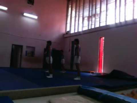 Junior acrobatics