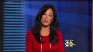 Sharon Tay 2013/02/14 KCAL9 HD