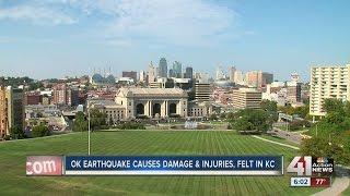 Earthquake shakes Kansas City metro Saturday morning