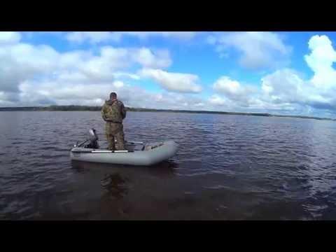 лодка Фрегат 280Е рыбалка на спиннинг р. Волга MP4