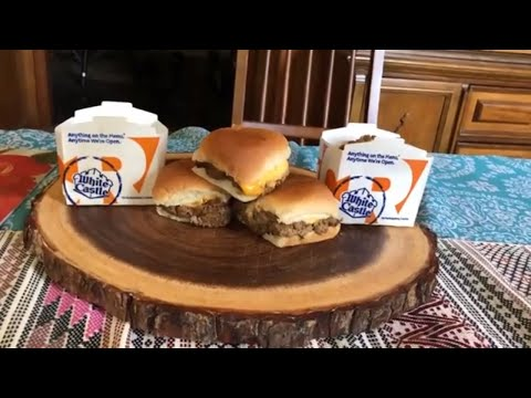 """""""Giacomo and Mom go to White Castle"""" feat. Impossible Burger Sliders"""