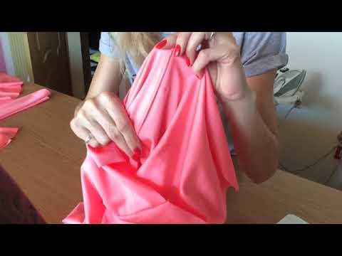 Шьём Платье Для Бальных Танцев - YouTube