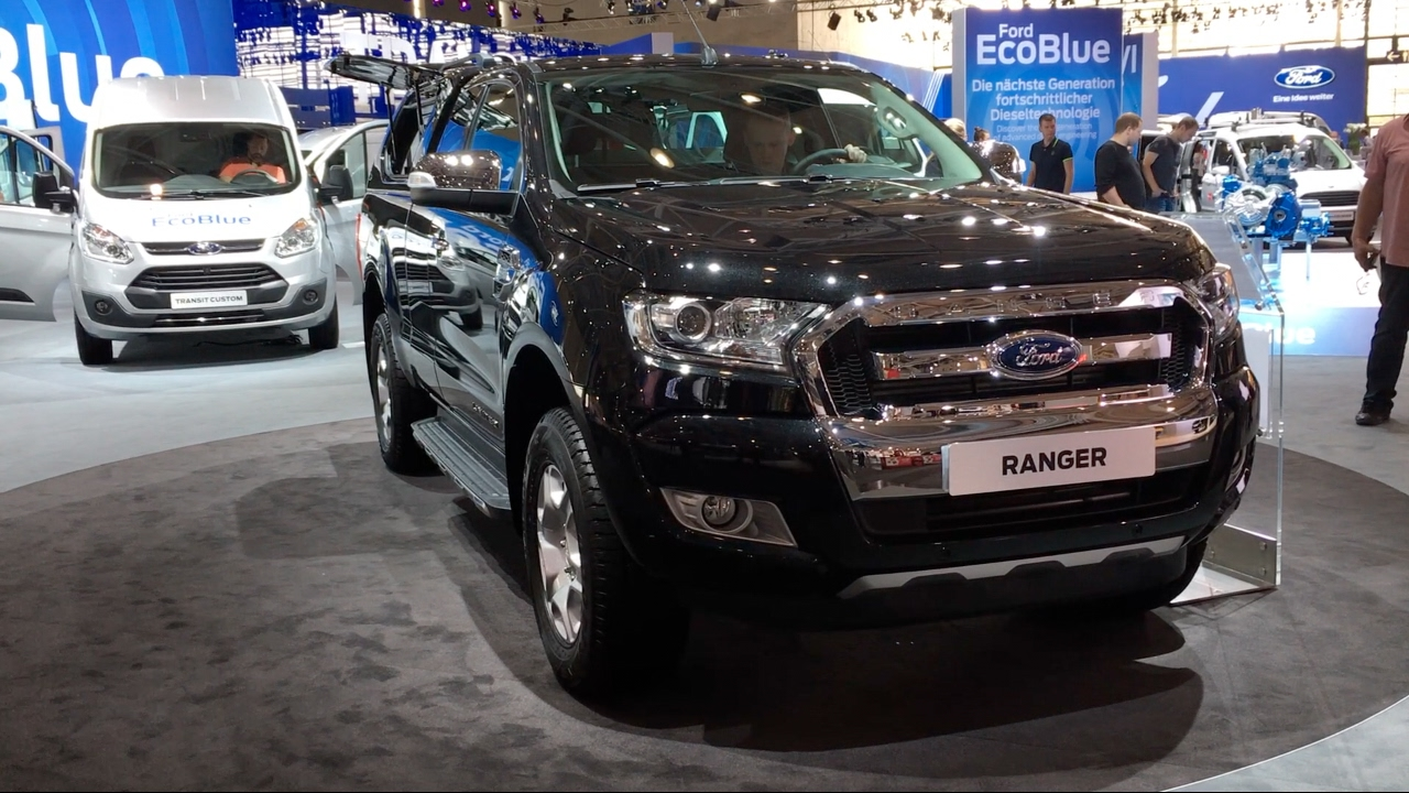 ford ranger limited 2017 in detail review walkaround interior exterior youtube. Black Bedroom Furniture Sets. Home Design Ideas