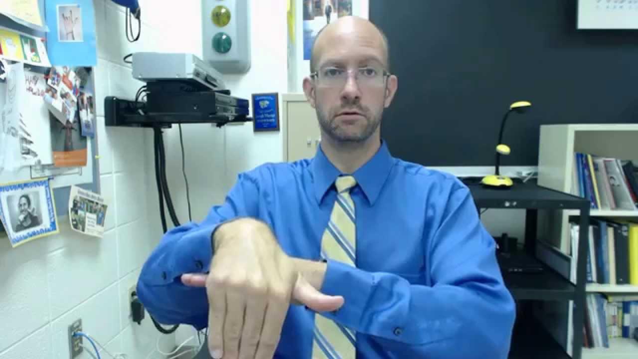 GOOD MORNING, AFTERNOON, NIGHT | ASL - American Sign Language ...