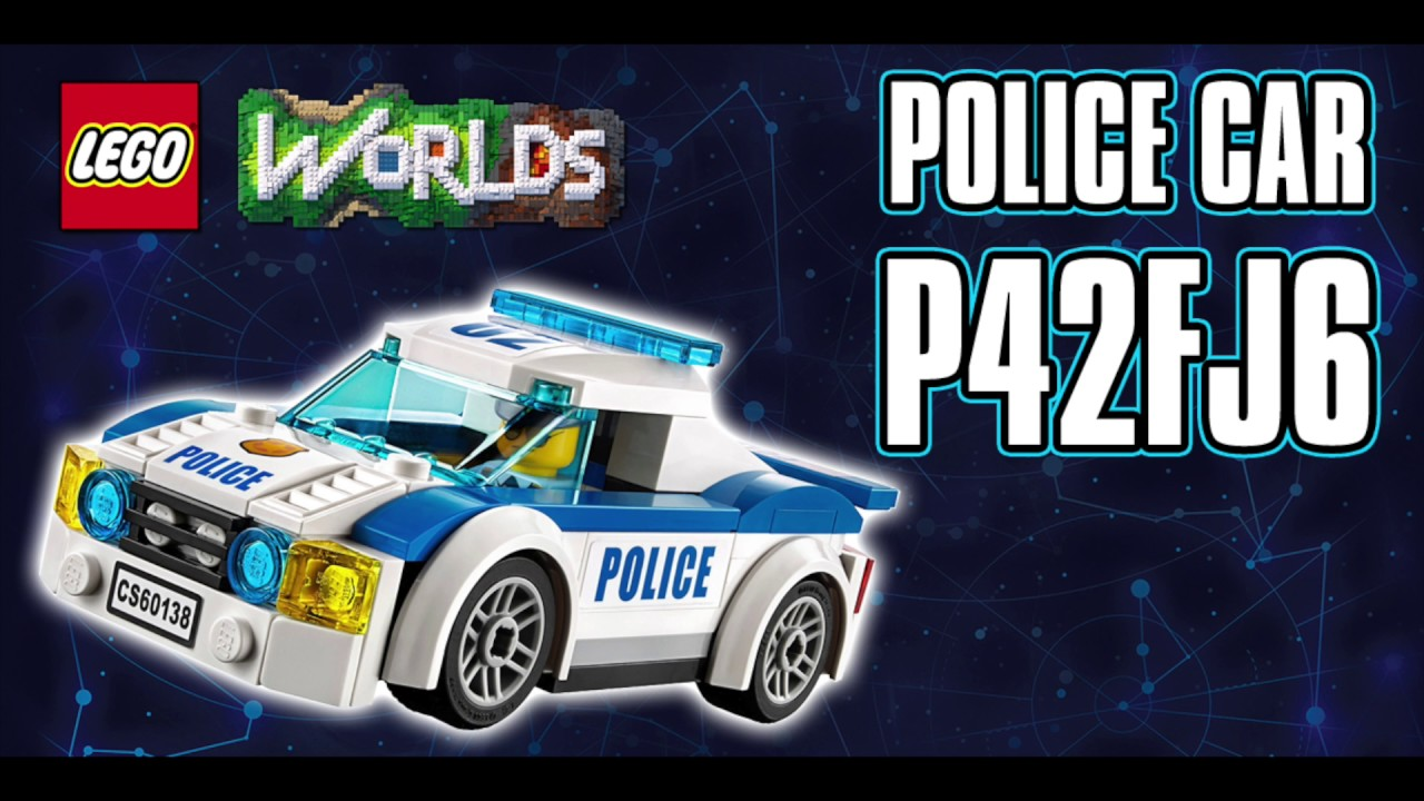 LEGO WORLDS Secret Code - Police Car Unlock - LEGO City - LEGO ...