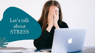A raw and emotional chat about Stress!