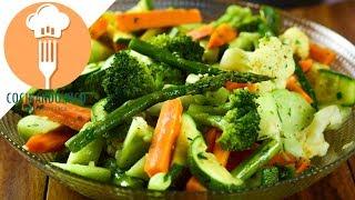 Verduras al Ajo y Mantequilla | Al Vapor ORIGINAL
