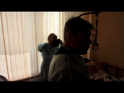 Министр Ярошенко в травматологии ГБ -1  г. Братска 2