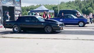 '81 Chevrolet El Camino vs Blacklist '85 Buick GN 1/4mile drag race