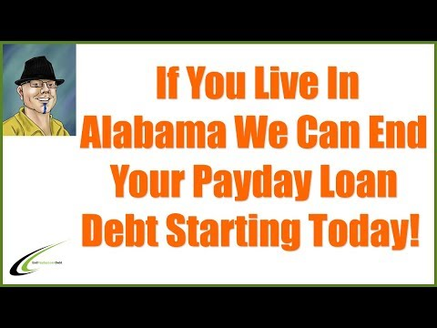 How To Get Out Of Payday Loan Debt In Alabama