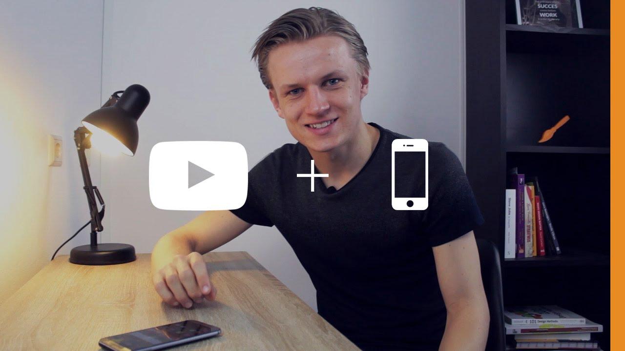 Een thumbnail maken op je mobiel  Mobile serie