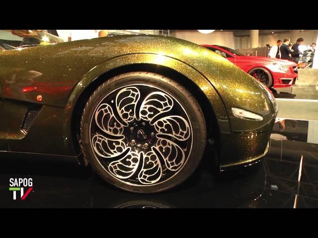 Top Marques - европейская выставка элитных автомобилей и предметов роскоши.